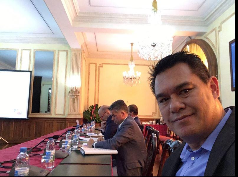 Le député Jean-Paul Tuaiva a demandé et obtenu le renvoi de son procès en appel pour cause de sessions parlementaire à Paris, où il se trouve actuellement. (Twitter)