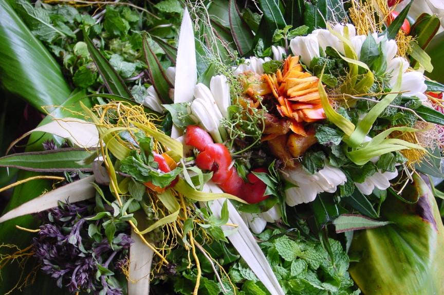1.Umuhei, le bouquet marquisien aphrodisiaque