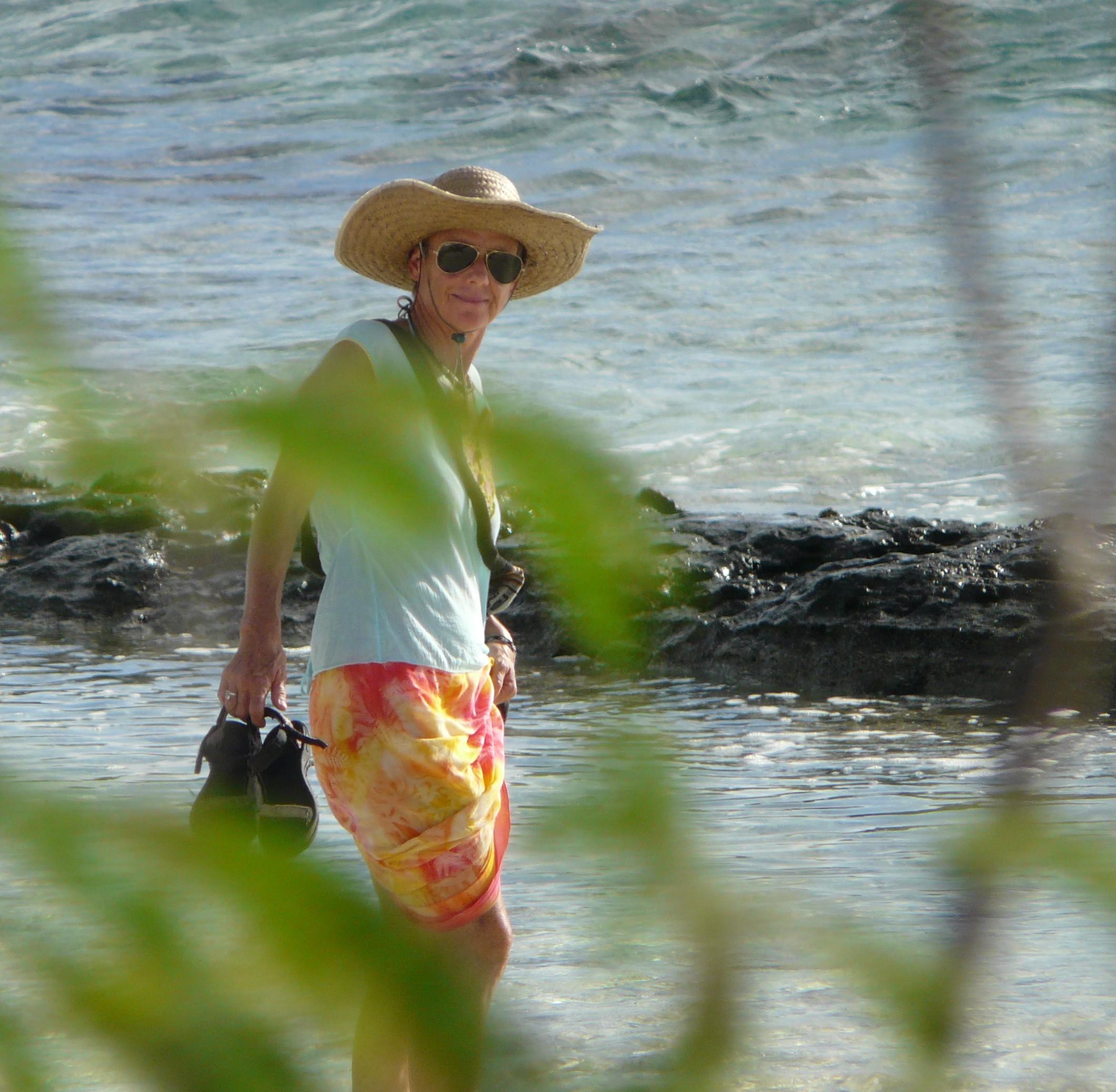 La globe-trotter s'inspire de ses voyages et de ses rencontres pour écrire des romans.