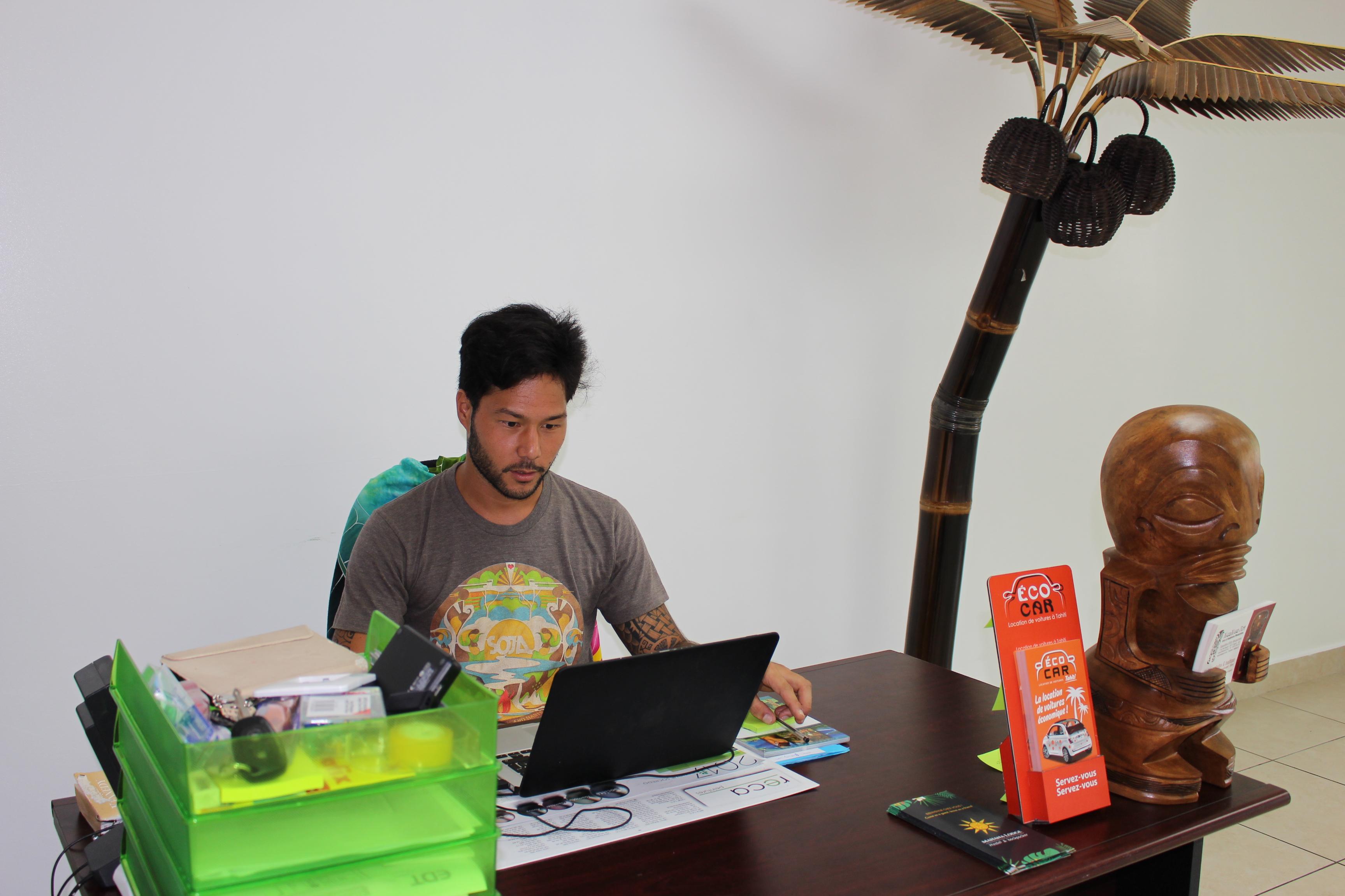Maui Shan a ouvert la première auberge de jeunesse tahitienne