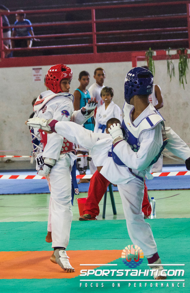 Taekwondo – Championnat de Polynésie : L'AS Nahiti débute bien la saison