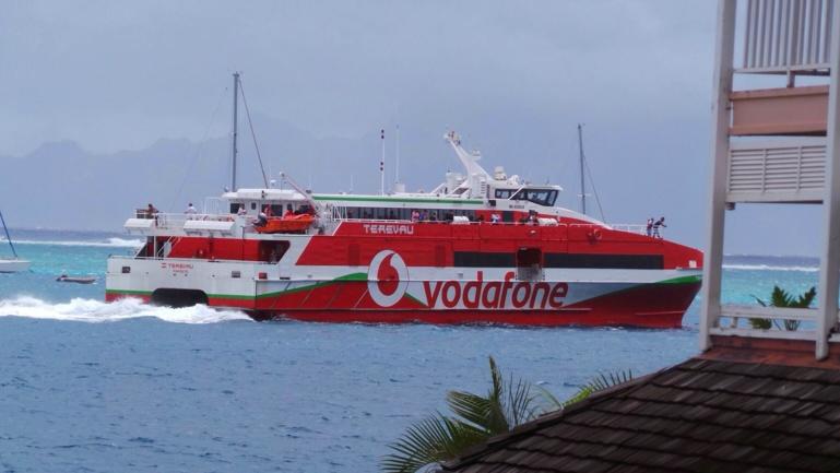 Des navettes entre Tahiti et Moorea aujourd'hui