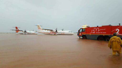 Intempéries à Tahiti : la piste aéroportuaire est fermée jusqu'à nouvel ordre