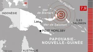Fort séisme en Papouasie-Nouvelle-Guinée, fin de l'alerte au tsunami