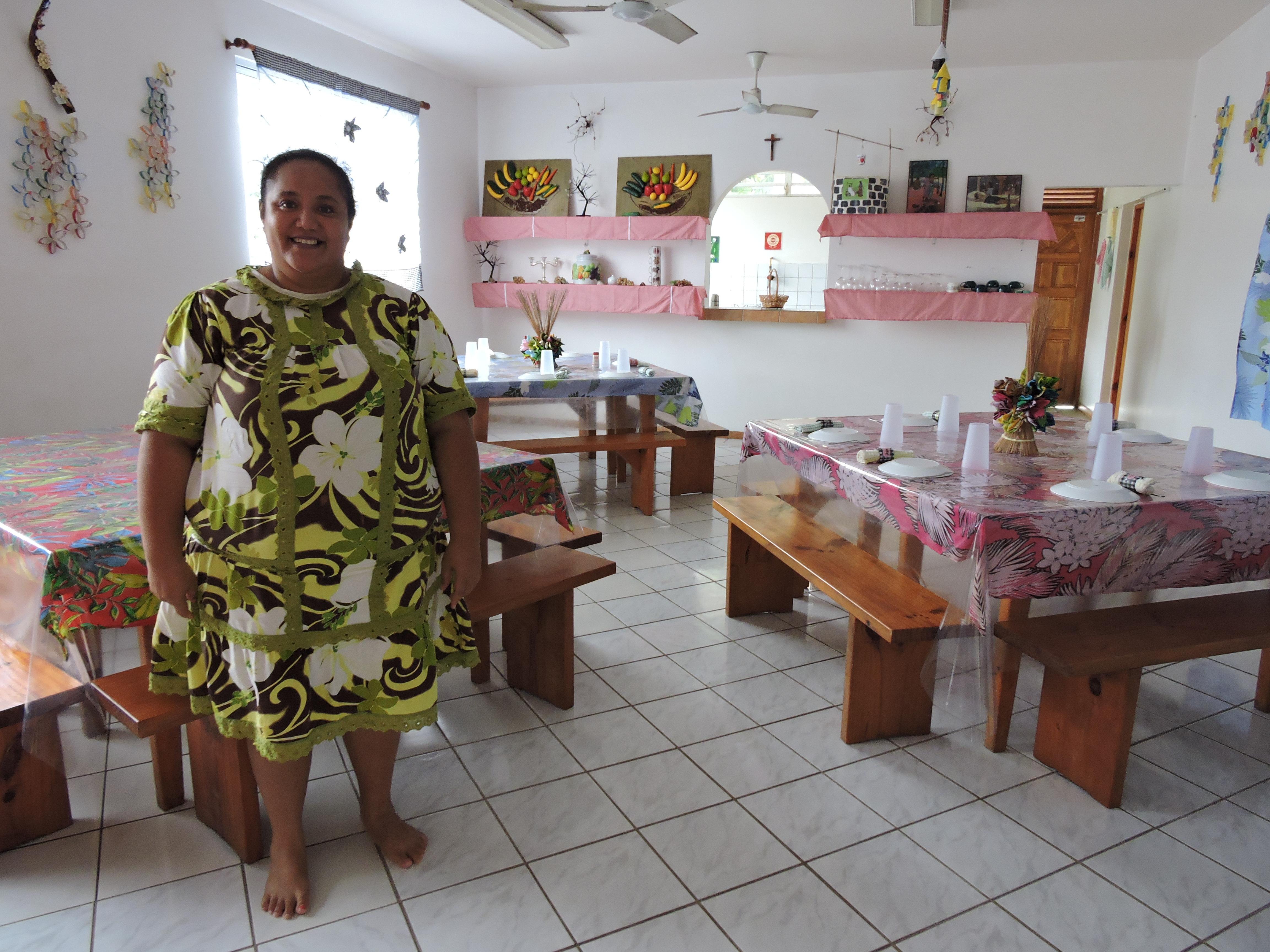 Marie-Claude Taputu travaille depuis 16 ans pour le foyer La Samaritaine.