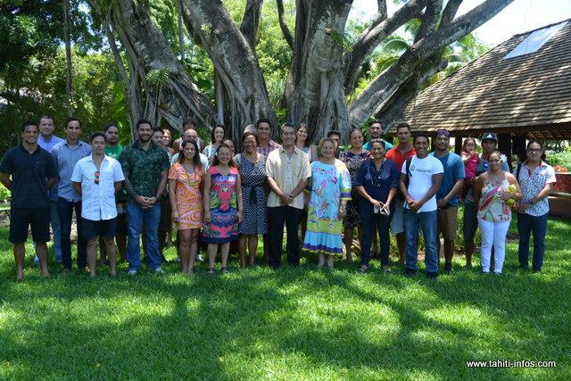 Une vingtaine de jeunes entrepreneurs et sportifs étaient présents ce mercredi après-midi, à l'assemblée.