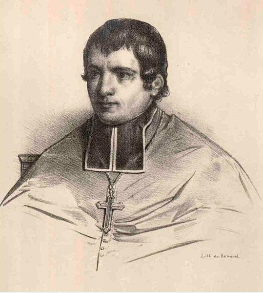 L'un des seuls portraits d'Etienne Rouchouze, qui n'est pas mort au large du cap Horn, mais qui a bel et bien été dévoré sur la plage d'Anakena, à l'île de Pâques.