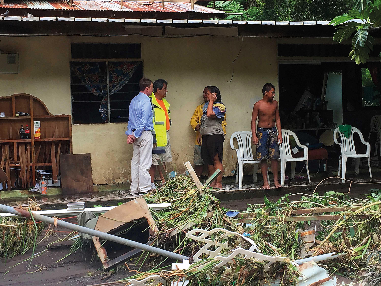 On estime à près d'un millier le nombre de foyers sinistrés lors des fortes pluies des 21 et 22 janvier derniers.