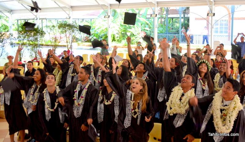 Une remise de diplômes à l'ECT