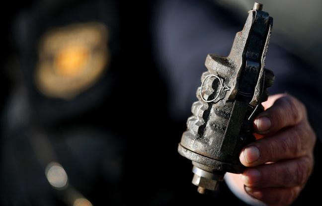 La grenade apportée par l'élève date de la Première Guerre mondiale. Illustration - AFP