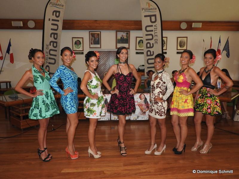 """Les vahine défileront dans les jardins de l'hôtel de ville de Punaauia, le 25 février, sur le thème """"Ma culture, mon patrimoine""""."""