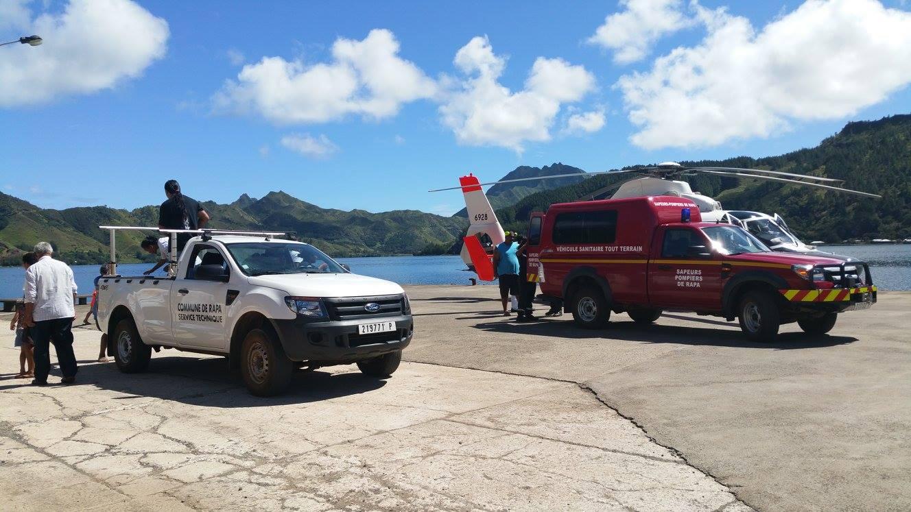 Sans aérodrome, les évasans non-urgents à Rapa sont compliqués, surtout au début et à la fin des vacances scolaires.