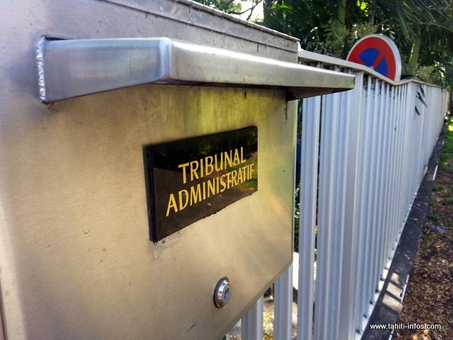 Le tribunal administratif de Papeete efficace