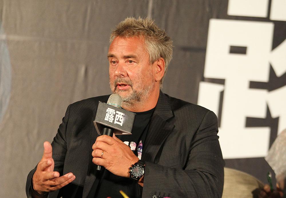 Le réalisateur français Luc Besson.
