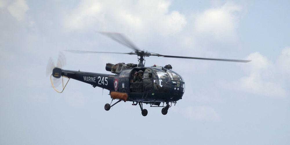 Nouvelle Calédonie : deux militaires blessés dans un accident d'hélicoptère