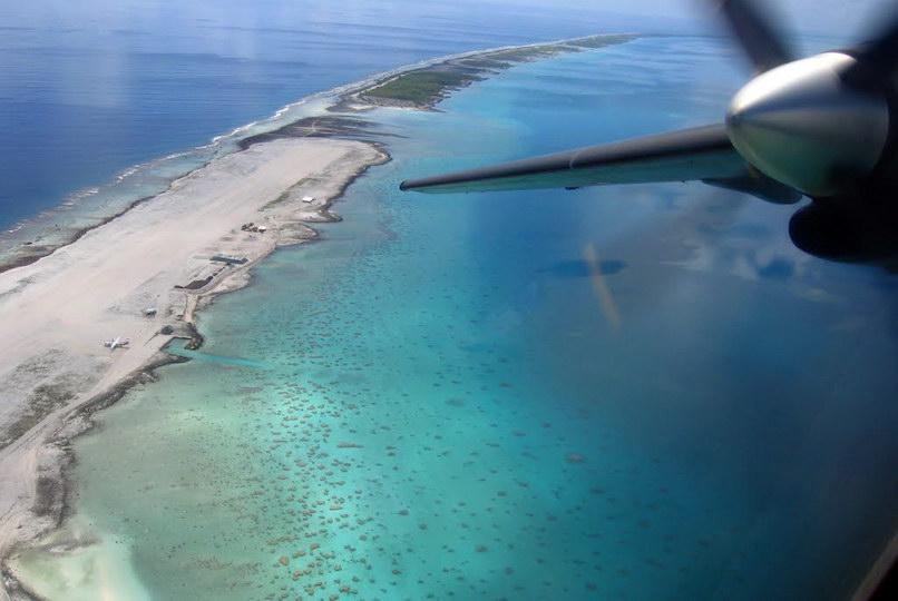 L'atoll de Faaite aux Tuamotu. (DR)