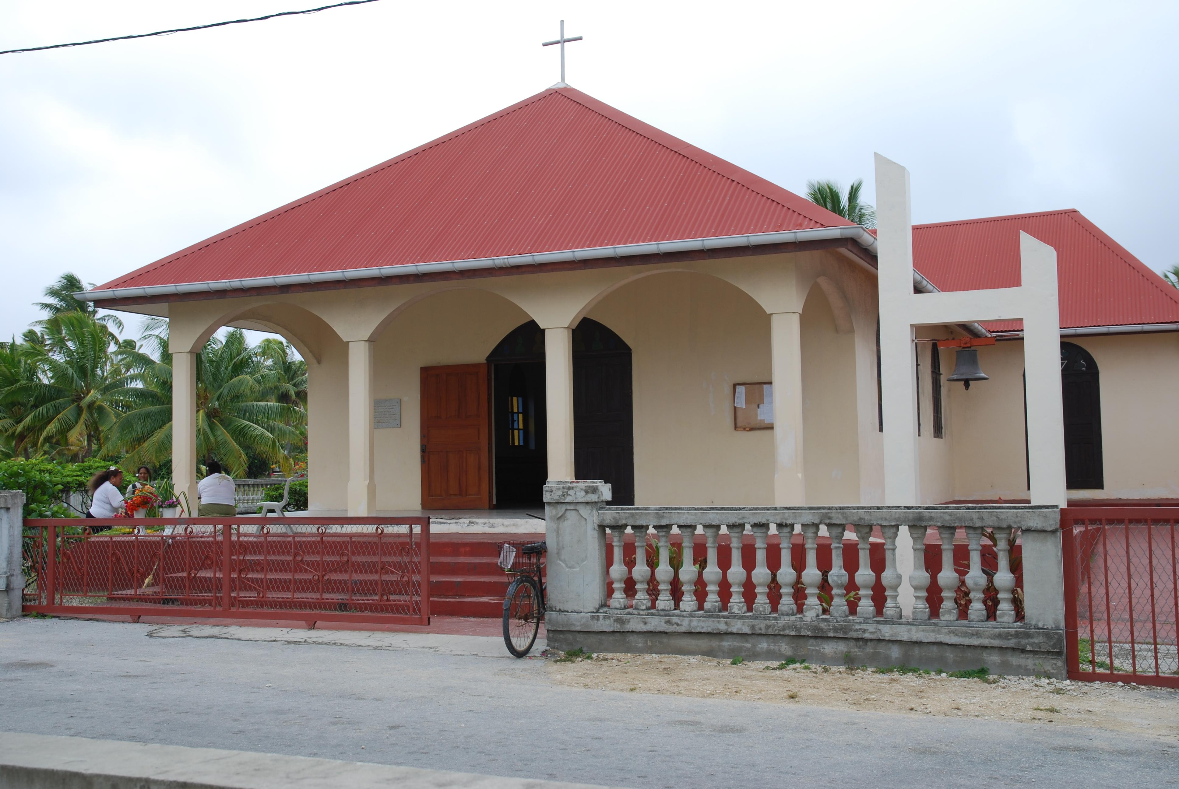 L'Eglise de Tureia