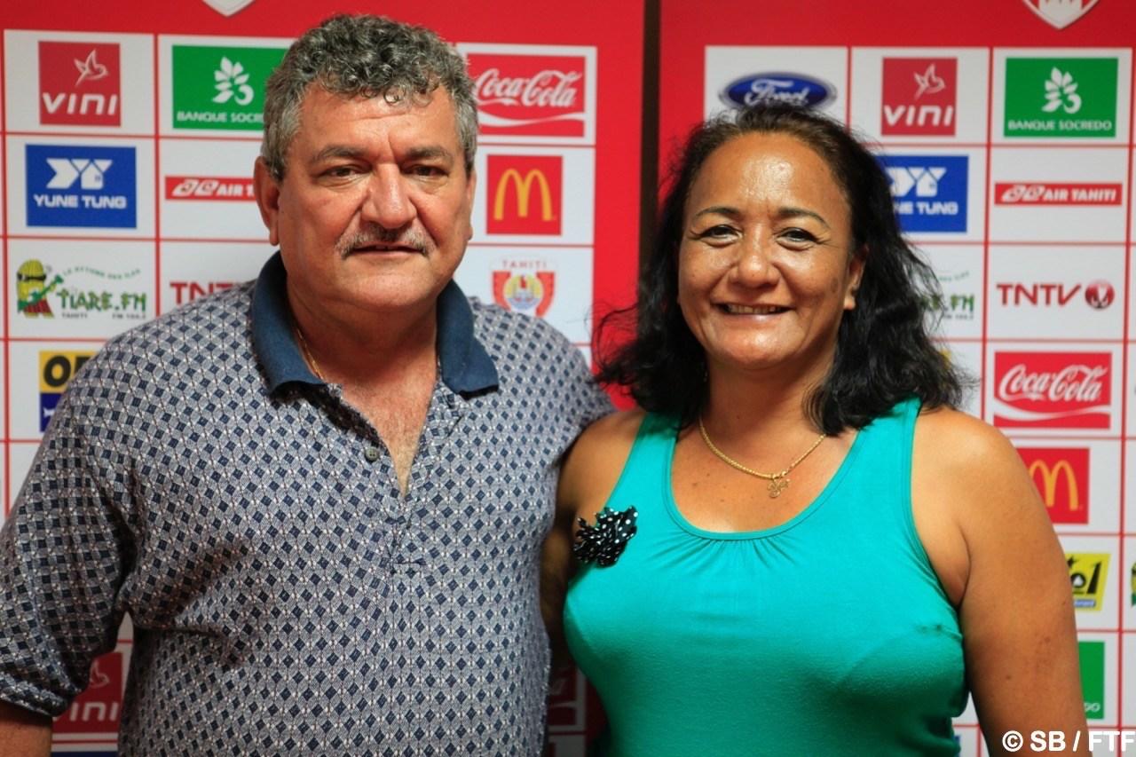 Thierry Ariiotima et Moeama Mu