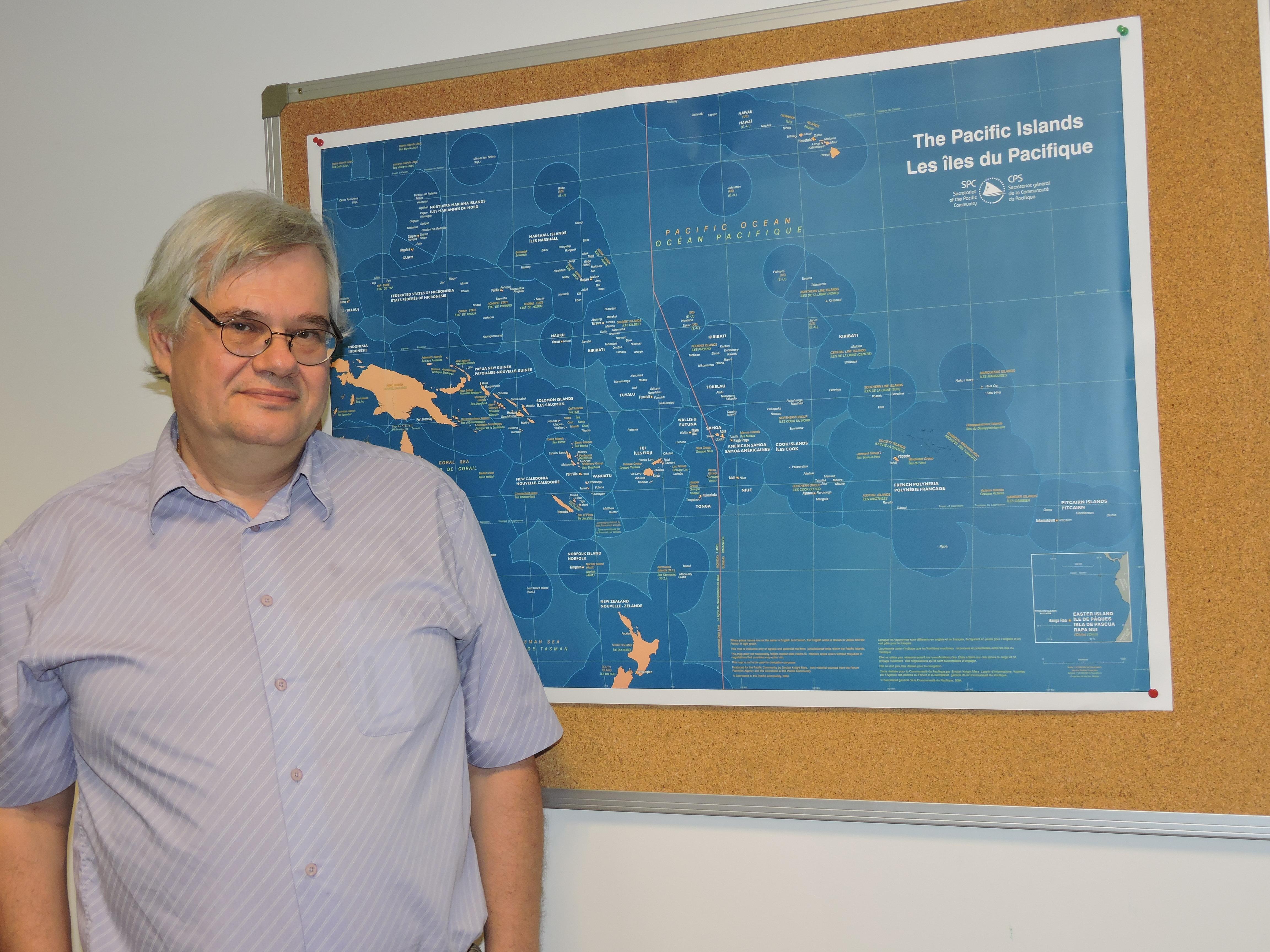Chaque année, une quarantaine de projets sont financés par le Fonds Pacifique, indique Christian Lechervy, ambassadeur et secrétaire permanent pour le Pacifique.