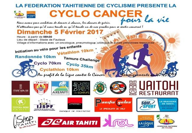 Cyclisme : La « Cyclo Cancer », bouger pour la bonne cause