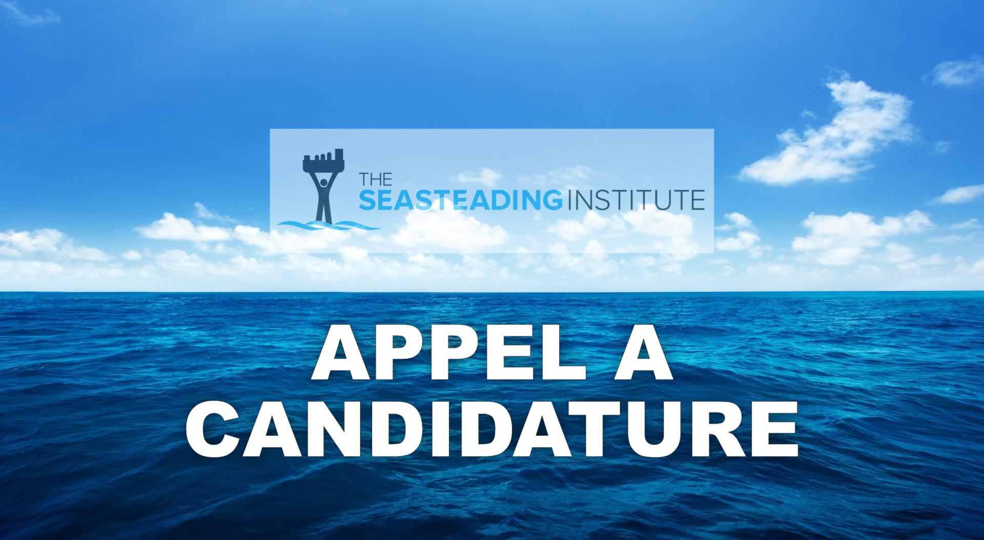 Projet d'île flottante: Seasteading cherche son chargé de com