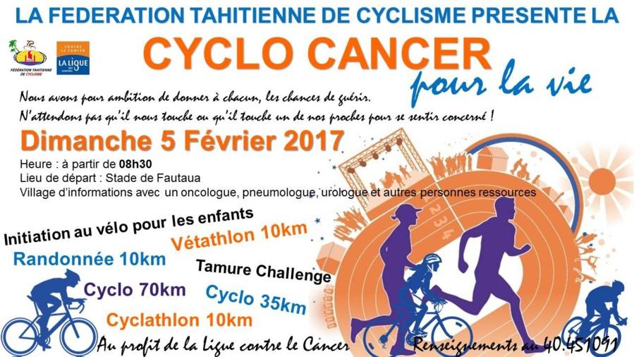 Cyclo cancer : des perturbations de la circulation sont à prévoir dimanche