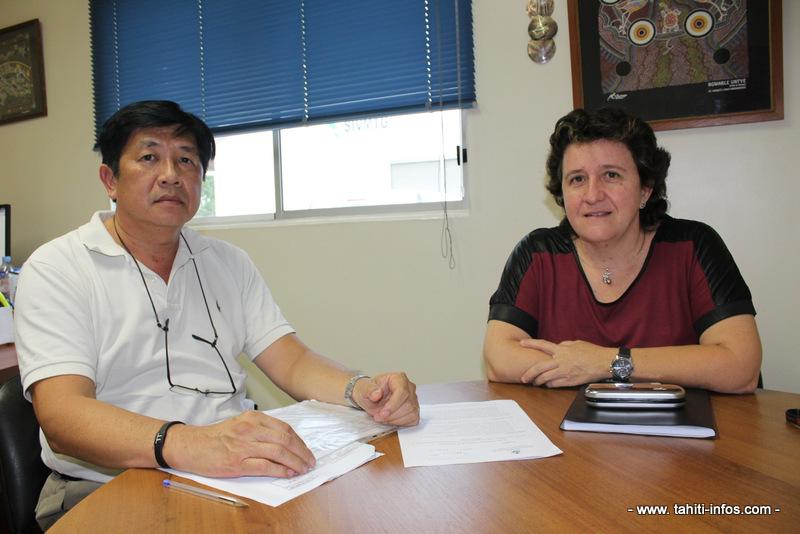 Christian Jonc (à gauche) et Claudine Laugrost (à gauche) travaillent aux affaires sociales depuis plus de 20 ans et espèrent que cette année, ils accueilleront de nouveaux coéquipiers dans leurs circonscriptions.