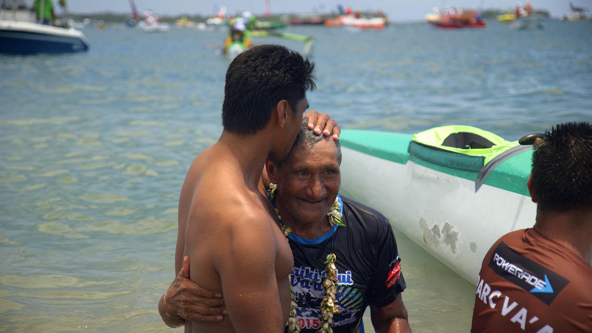 Tavi Pirifonia, 72 ans, n'a pas encore raccroché sa rame !