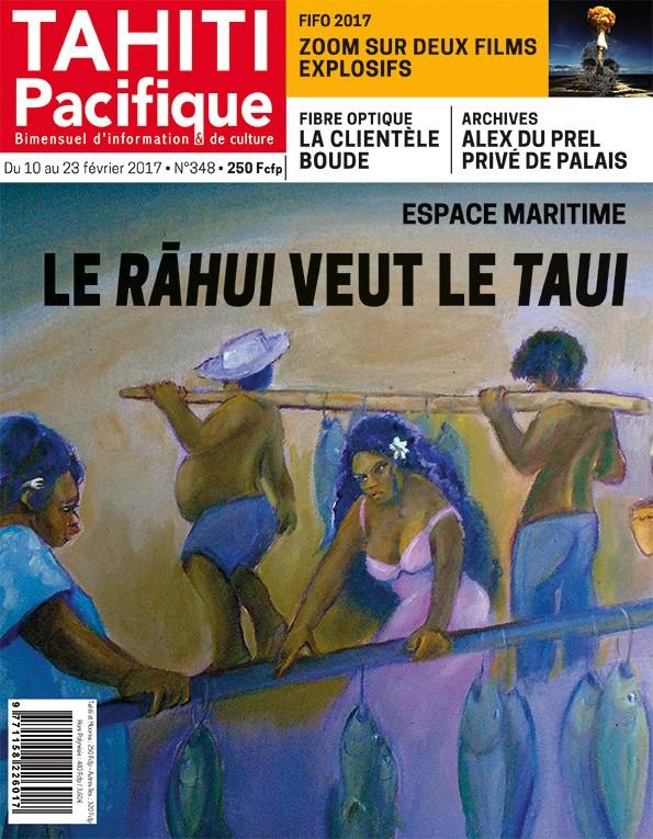 À la Une du Tahiti Pacifique