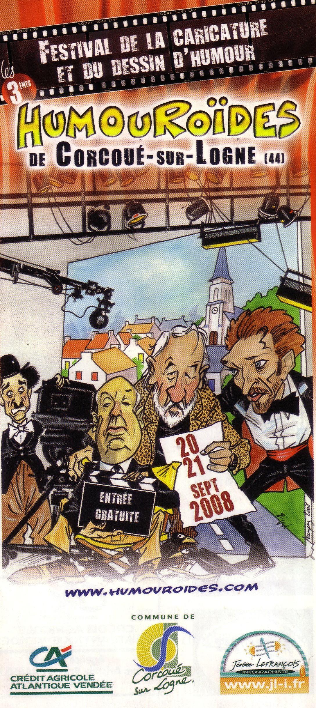 Il a également créé les Humoroïdes, festival de la caricature et du dessin de presse à Corcoué-sur-Logne, où il a vécu de 1996 à 2008.