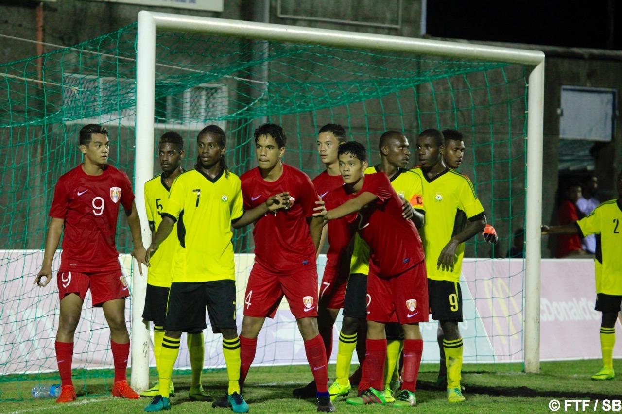 Nos jeunes ont remercié le public en fin de match