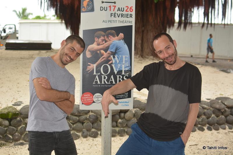 Adi Boutrous et Hillel Kogan