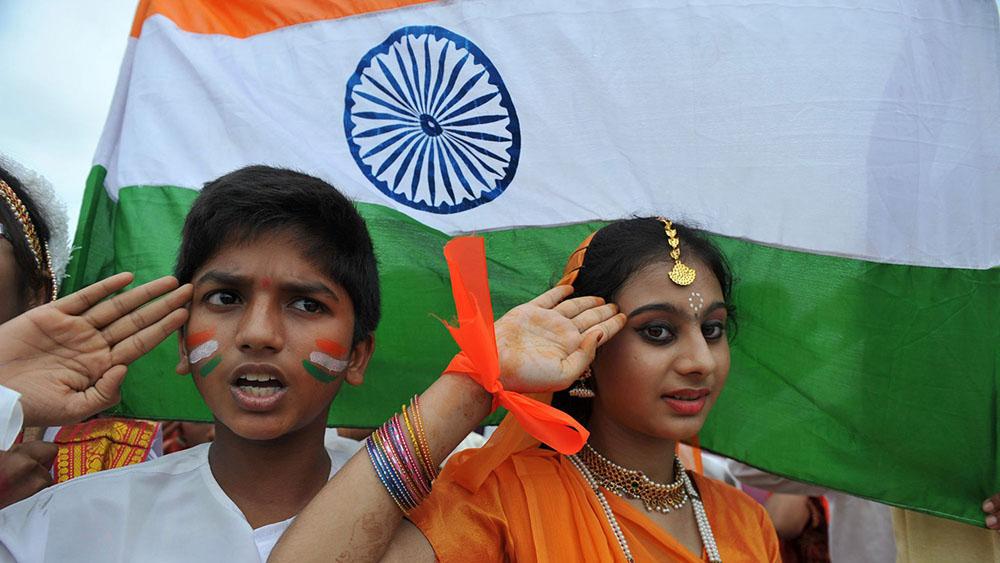 L'Inde décroche le record du monde de chant de l'hymne national