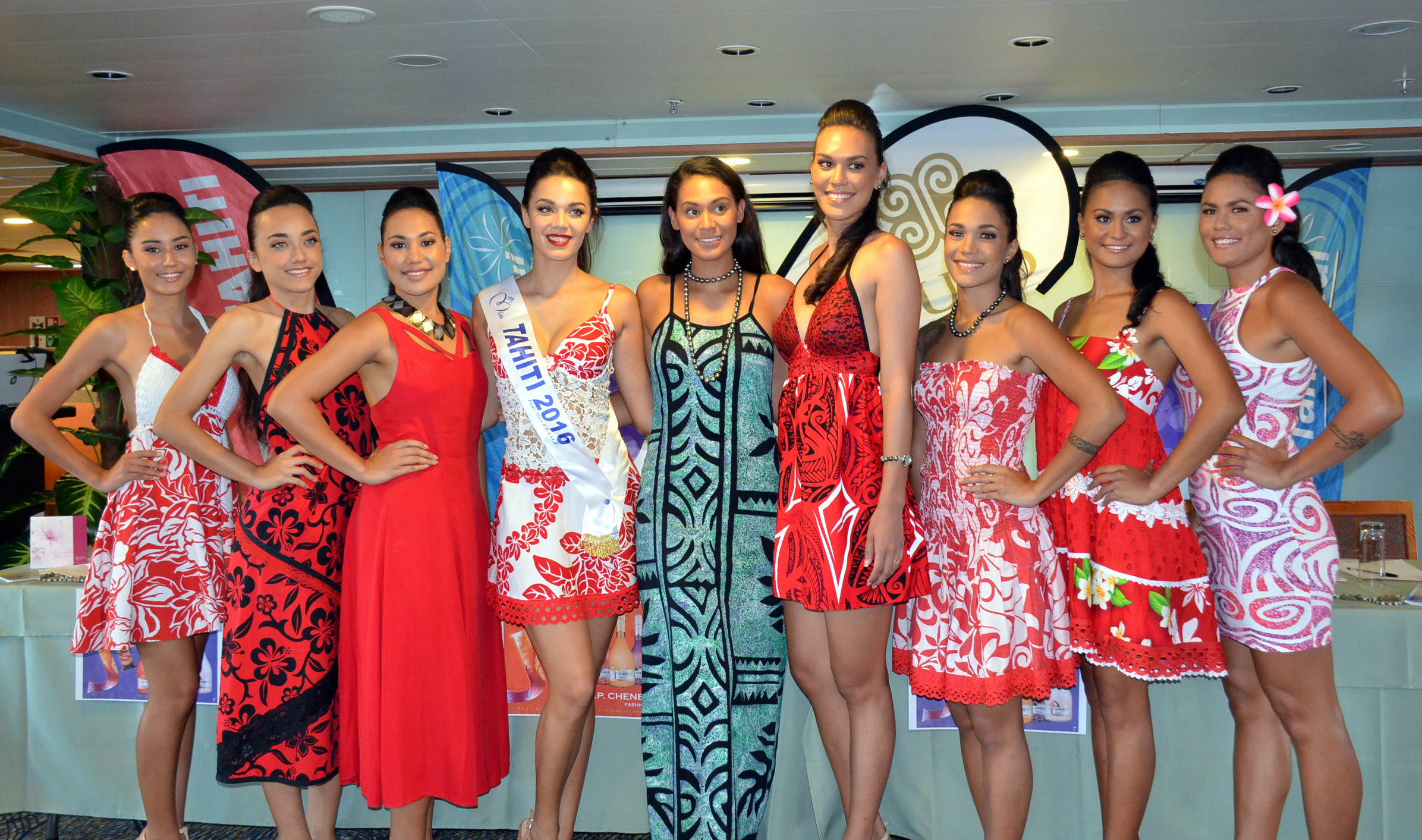 7 candidates pour miss Marquises