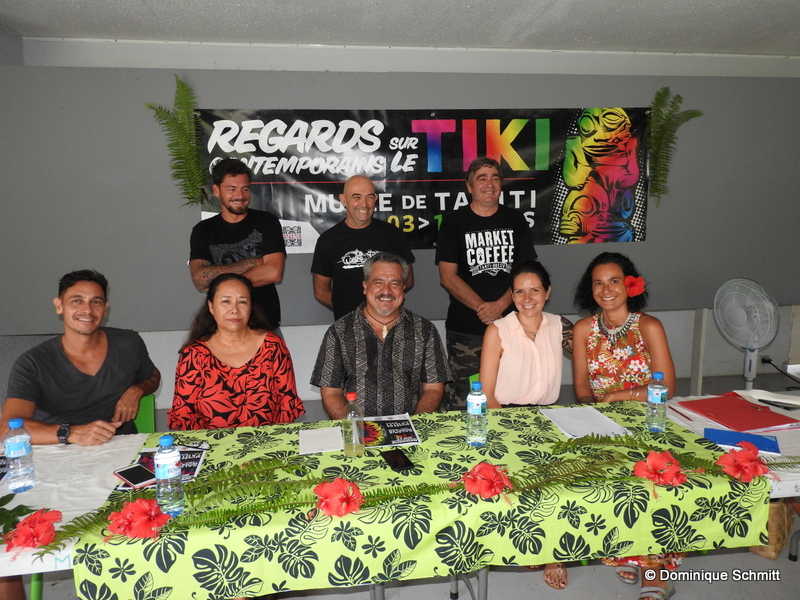 Ce projet riche est le fruit de la collaboration du ministère de la Culture, du Musée de Tahiti et des îles et de la galerie Winkler.