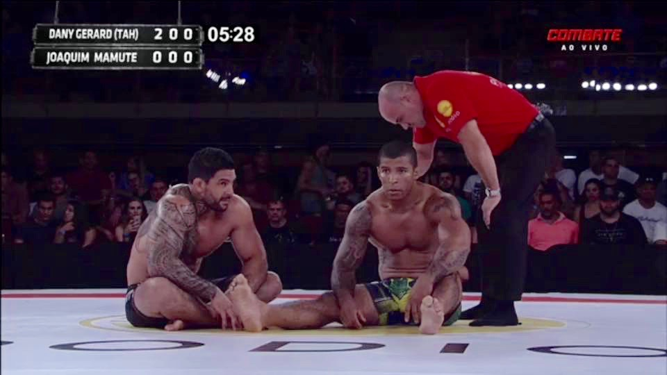 Dany rentre progressivement dans le monde du jiu jitsu professionnel