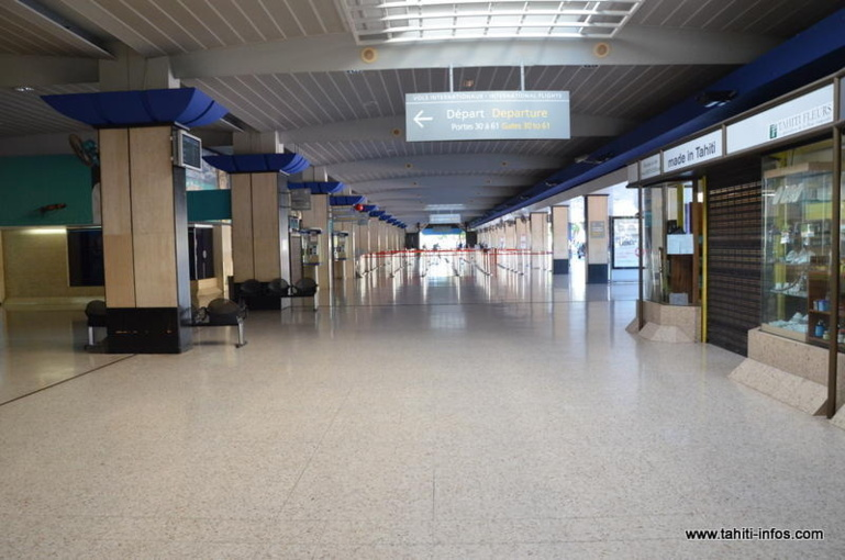 Les aéroports des îles de la Société affectés par les pluies