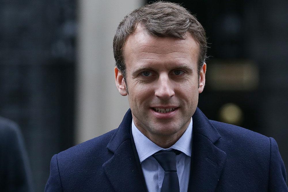 Le candidat à la présidentielle française Macron rencontre May à Londres