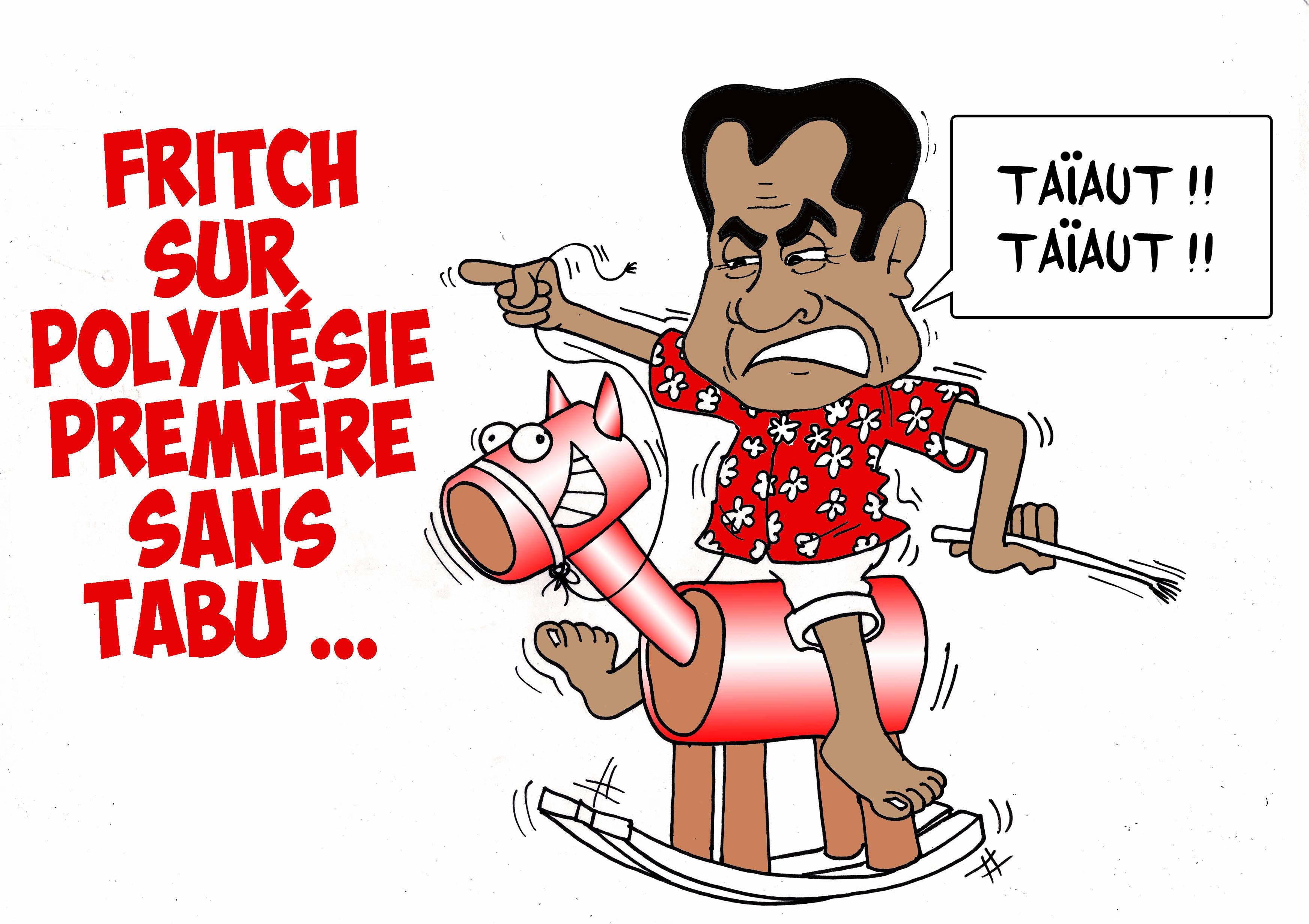 """"""" Fritch sans tabu """" par Munoz"""