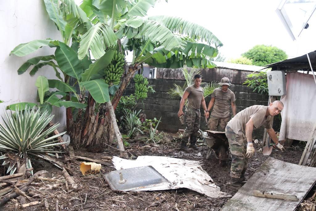 Le conseil des ministres a constaté l'état de calamité naturelle des sinistres occasionnés par les fortes pluies, des 21 et 22 janvier et 3 février, sur les communes de Tahiti et Moorea.