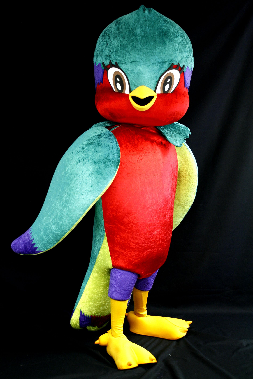 La mascotte Vik'ura rencontrera le public polynésien ce soir, pour la première fois.
