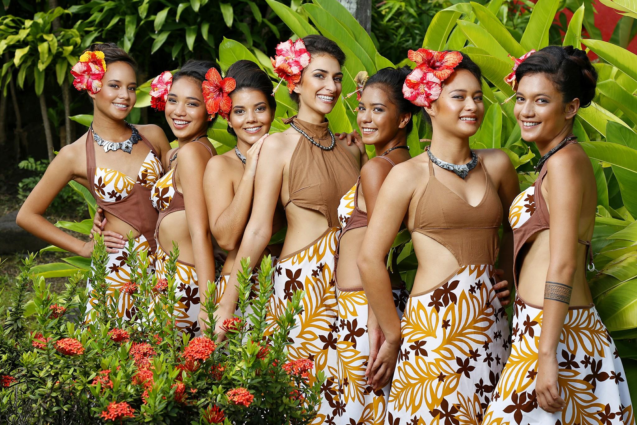 L'une de ces sept vahine sera élue Miss Punaauia 2017 et participera, de fait, à la prochaine élection de Miss Tahiti.
