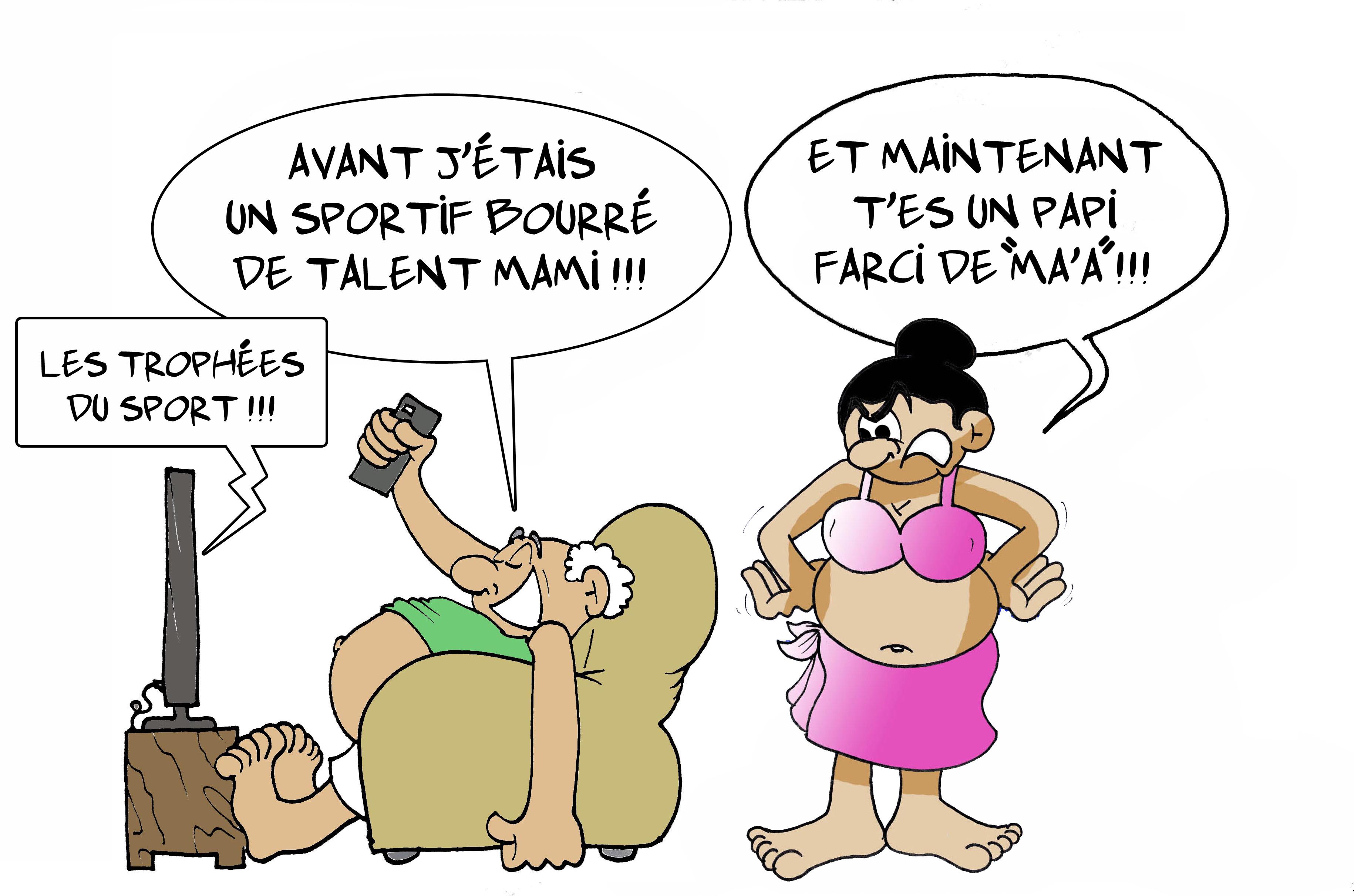 """"""" Les trophées du sport """" par Munoz"""