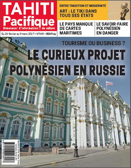 """Tahiti Pacifique s'intéresse au """"curieux"""" projet de Maison de la Polynésie en Russie"""