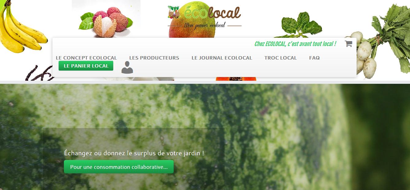 Un site internet pour consommer local