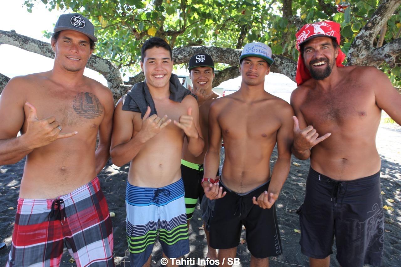 Tereva David, Keanu Moux, Taramu Tinirau, O'Neil Massin, Yann Duhaze, il faudra compter sur la qualité des champions tahitiens