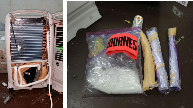 La drogue était dissimulée dans des déshumidificateurs d'air importés depuis les Etats-Unis par une entreprise locale. (Douane/Archives)