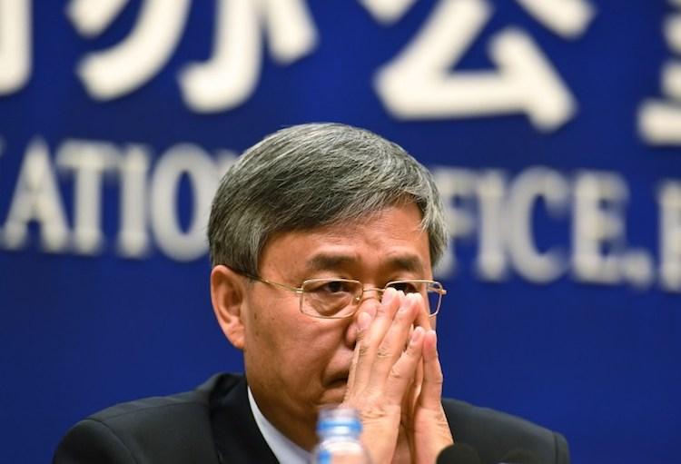 Guo Shuqing © Greg Baker / AFP