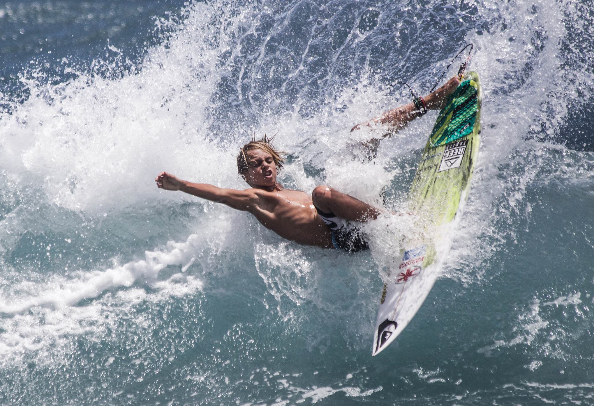 Surf – « Coca Cola Teen Surf Session » : Kauli Vaast, meilleur junior et cadet