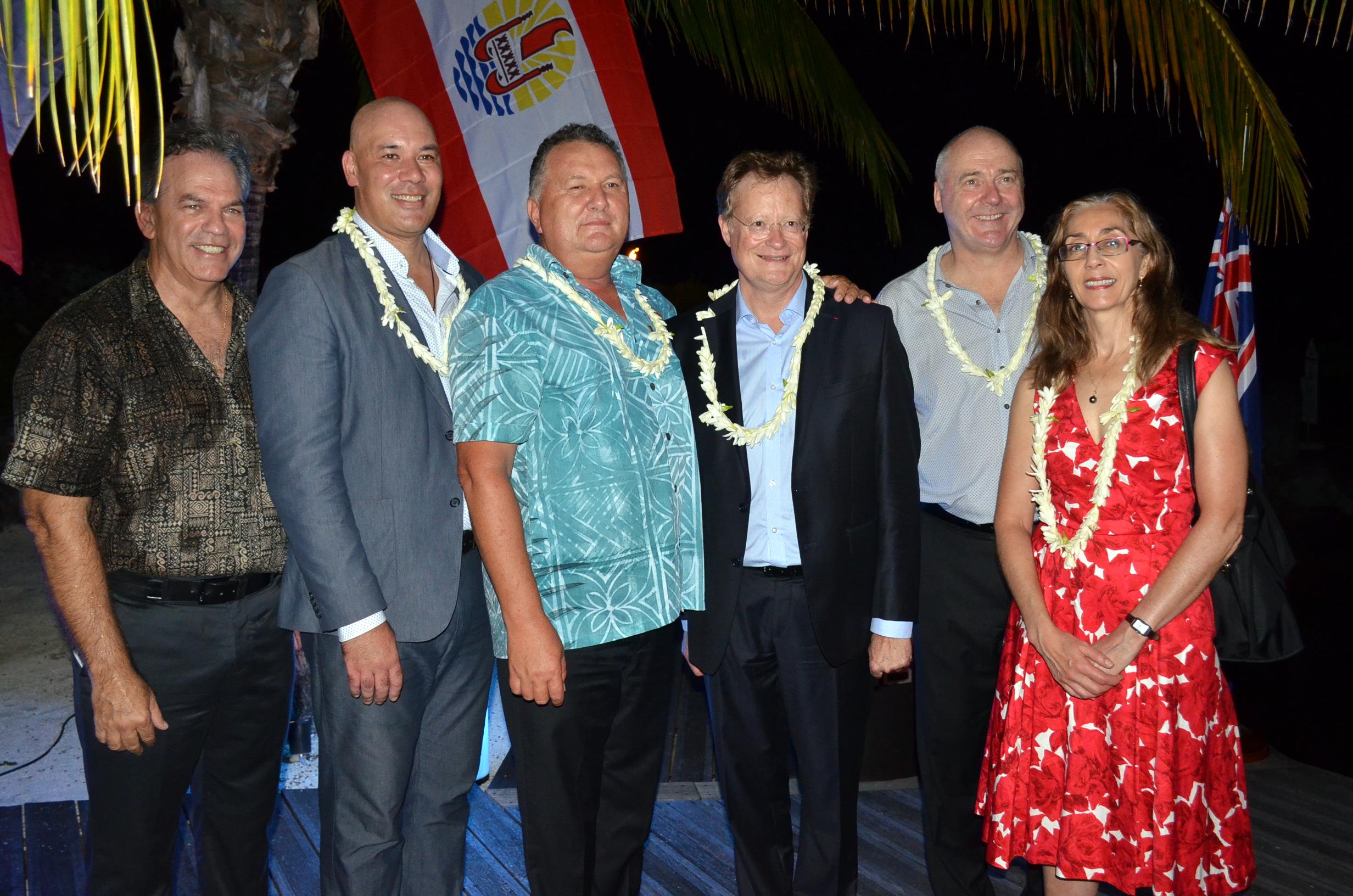 Un ambassadeur Néo Zelandais en visite officielle au Fenua